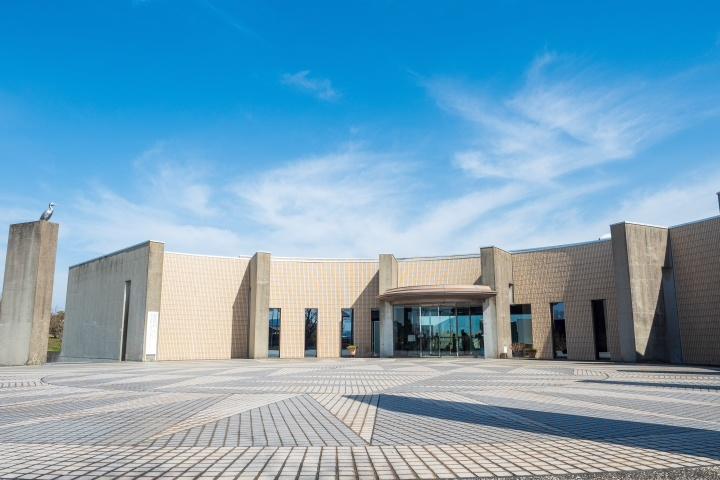 下関市立考古博物館 外観